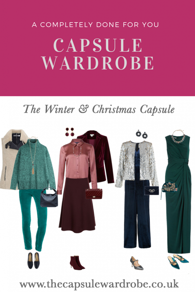 winter and Christmas capsule wardrobe